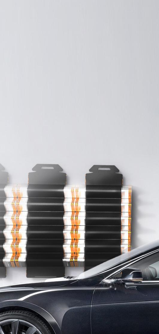 Wandmodule mit Tesla2